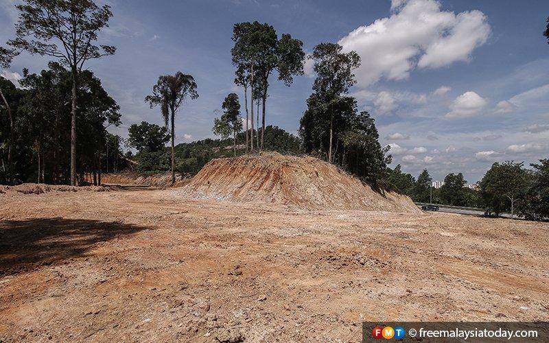 Penduduk MARAH : Hutan dan Tasik di Bukit Cerakah Shah Alam Digondol