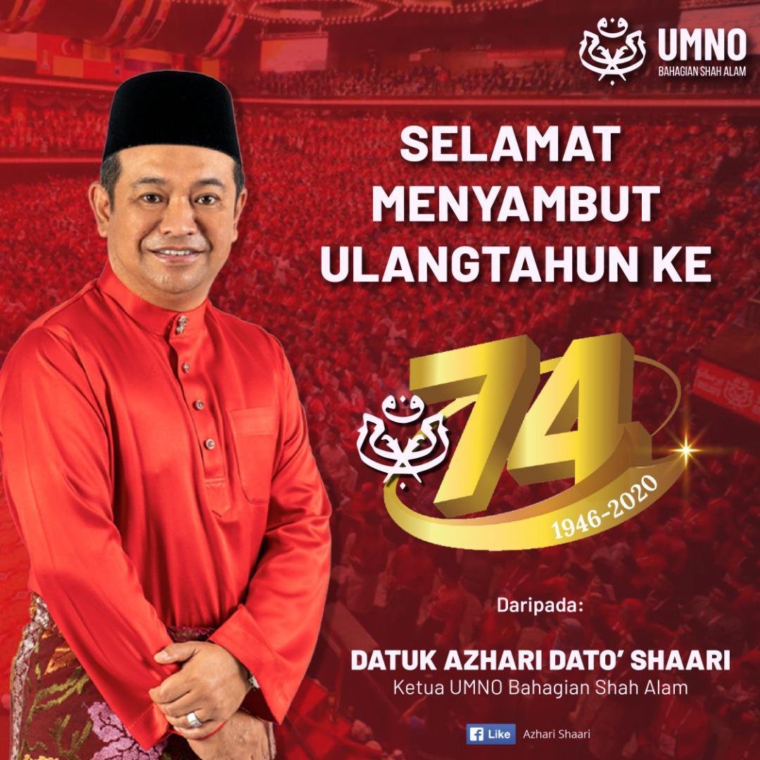 Selamat Ulangtahun UMNO Ke-74